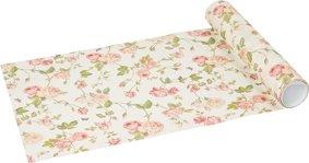 Nueva rabling rosa crema tapetes para la mesa de papel 33 cm x 6 ...