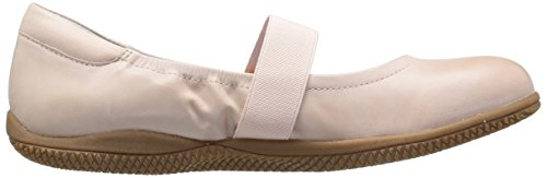 Soft SoftWalk Leather Pink Dull Jane Mary Point Pale Flat Women's High awqra8