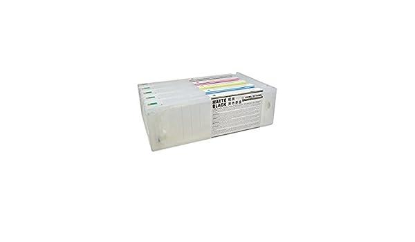 Cartuchos Recargables para Plotter Epson 7700 y 9700 de 700 ml ...