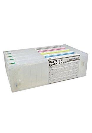 11 Cartuchos Recargables para Plotter Epson 7900 y 9900 de 700 ml ...