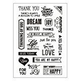 Ocamo Kids Toy Cute Transparent Stamp - Thank You