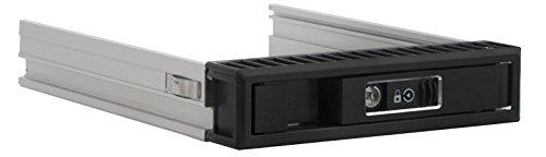 "(Kingwin Aluminum Single Bay Hot Swap Mobile Rack Tray For 2.5"" or 3.5"" SSD/HDD, Internal SATA Hard Drive Backplane Enclosure, Support SATA I/II/III & SAS I/II 6Gbps and [Optimized for)"