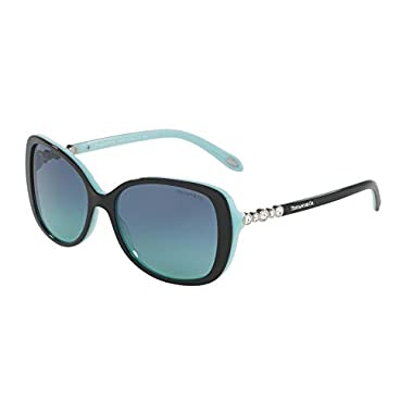 2cc4a043eeb Tiffany TF4121B 80559S Black Blue TF4121B Butterfly Sunglasses Lens Category