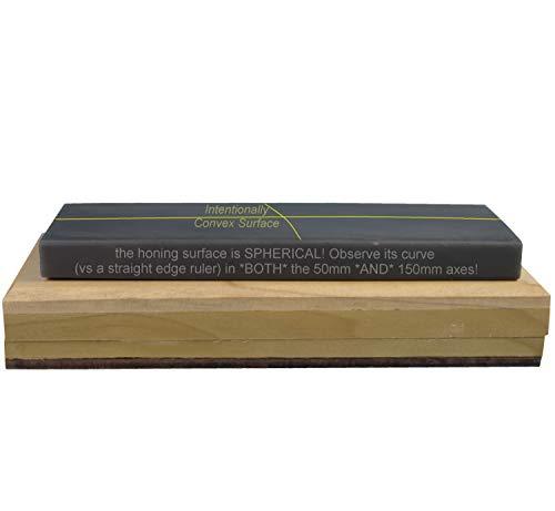 Black Translucent Hard Arkansas Stone, 2x6x0.5