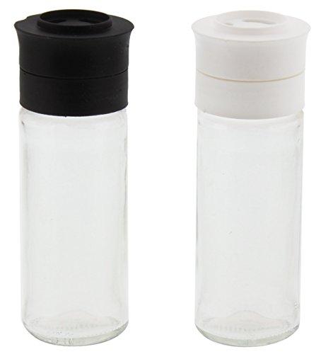 Glass Salt and Pepper Shaker Mill (Salt And Pepper Shakers Plastic)