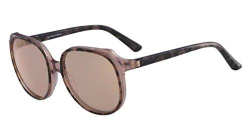 Sunglasses CALVIN KLEIN CK 8573 S 643 ROSE TORTOISE/CRYSTAL by Calvin Klein