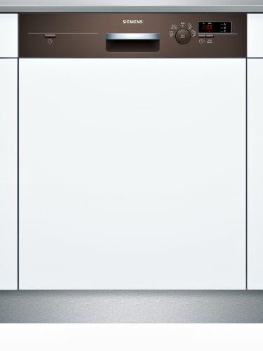 Siemens SN55D402EU iQ300 teilintegrierbarer Geschirrspüler / Einbau / A+ A / 12 Maßgedecke / 60 cm / umbra / varioSpeed / iQDrive