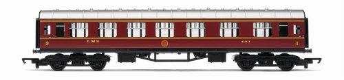 Hornby R4388 00 Gauge LMS Composite Coach Railroad Rolling Stock