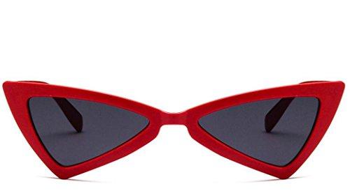 sol viajes gato triangulares Retro Gafas para al Plsonk aire UV400 de para libre 68TtWqx