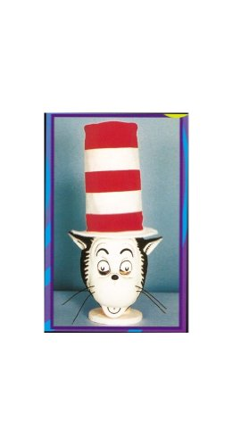 Cat in the Hat Mask with Hat -