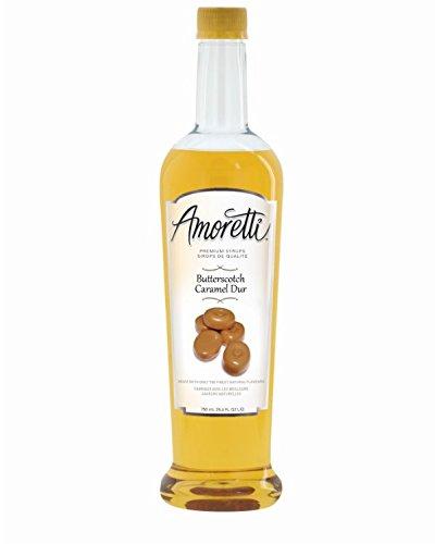 Amoretti Premium Syrup, Butterscotch, 25.4 -