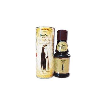 Nuzen Gold Aceite para el cabello de hierbas 100% pura hierba, crece un cabello