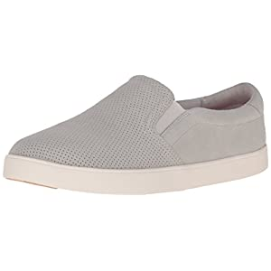 Dr. Scholl's Women's Madison Fashion Sneaker, Bone Perforated, 7.5 M US