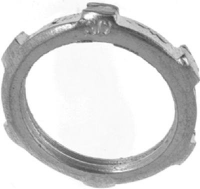 Thomas & Betts LN101-3 3-Pack 1/2-Inch Conduit Steel Locknut - Quantity 50
