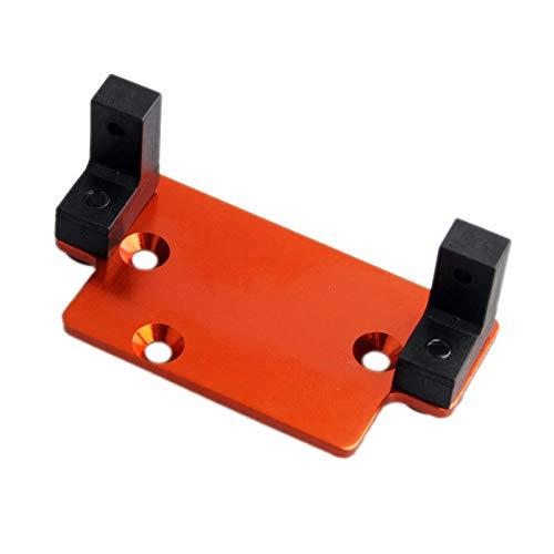 (Toyoutdoorparts RC 18010 Servo Plate W/Servo Mount Fit for HSP 94180 1:10 4WD Rock Crawler Pangolin)