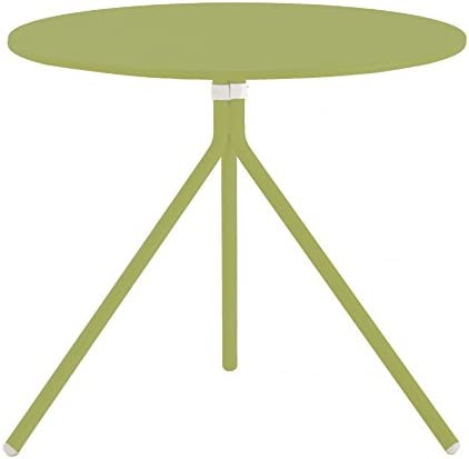 Nolita mesa redonda (Diámetro 60 cm, h 72 cm – verde: Amazon.es ...