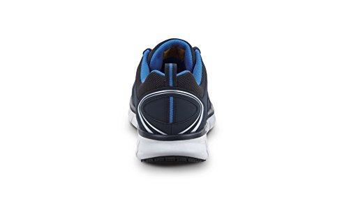 Excelente precio barato Proveedor más grande en línea barato Maxtrax Antideslizante Atlética Zapatilla De Deporte Azul Marino Skechers David Hombres DH0AH8