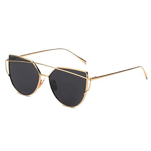 Covermason Lunettes De Soleil Hommes femmes carré Vintage en miroir lunettes de soleil lunettes Outdoor Lunettes de sport (C) vk0A16mg
