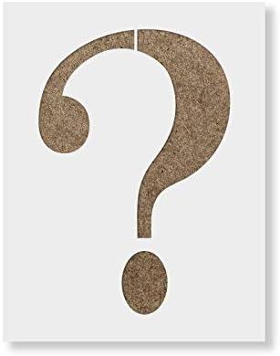Amazon Question Mark Stencil Template