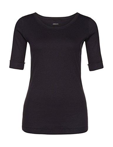 Marc Cain Essentials, Camiseta para Mujer Blau (midnight blue 395)