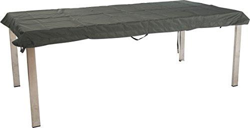 Stern Schutzhülle für Gartenmöbel, Tische, uni grau, 173 x 103 x 5 cm, 0,9 ml, 454821