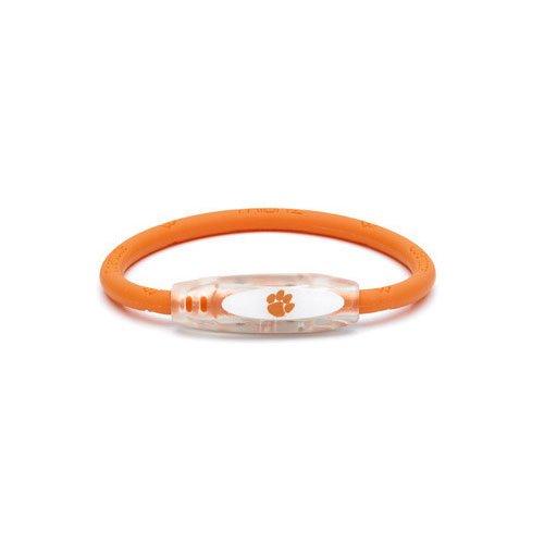 (NCAA Clemson Tigers Active Wristband, Orange, Medium)