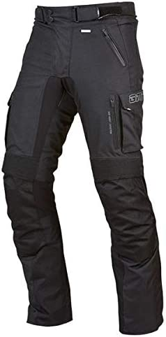 Black Germas Waterproof Trousers Trento MAN Airvent ventilation for Motorcycle S
