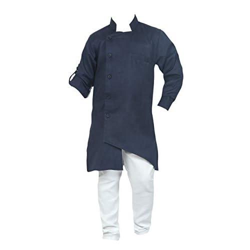 31A4GvOpC8L. SS500  - Ahhaaaa Kids Ethnic Wear Indo Western Kurta and Pyjama Set for Boys