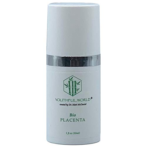 YOUTHFUL.WORLD Bio Placenta Anti-Wrinkle Serum (Created by Dr. Matt McDaniel, Medical Grade) with Growth Factors and Neuropeptides and Oligo Elements (The Best Wrinkle Cream In The World)