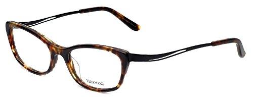 VERA WANG Eyeglasses V332 Black Tortoise 51MM