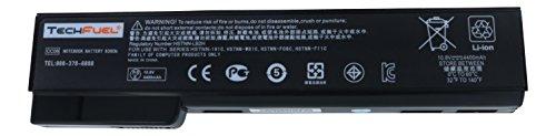 HP CC06, HSTNN-F08C, 62867-001, 628668-001 Laptop Battery for EliteBook 8460p, 8470p, 8560p, 8570p, ProBook 6460b, 6470b, 6560b, 6570b and more - New TechFuel High Capacity 6-cell, Li-ion Battery