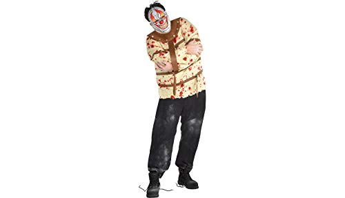 Amscan Psycho Clown Halloween Costume for Men, Plus