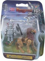 Mega Bloks Dragons Army Builders Fortress Attack 9630 ()