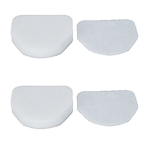 (Amyehouse Foam & Felt Filter Replacement for Shark Rocket Pro Upright NV472 NV480 NV481 & Rotator PowerLight Professional NV450 NV451 & Duo Clean Slim NV200 NV201 NV202 Vacuum Cleaner, Part #XFF450)