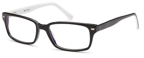 Womens Thinner Prescription Eyeglasses Rxable 54-18-145-18 in Black and - 2014 Glasses Womens Frames