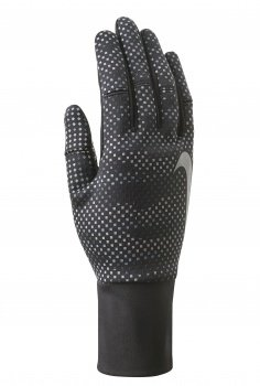 Nike Women's Vapor Flash Run Gloves 2.0 (L, Anthracite/Black/Silver)