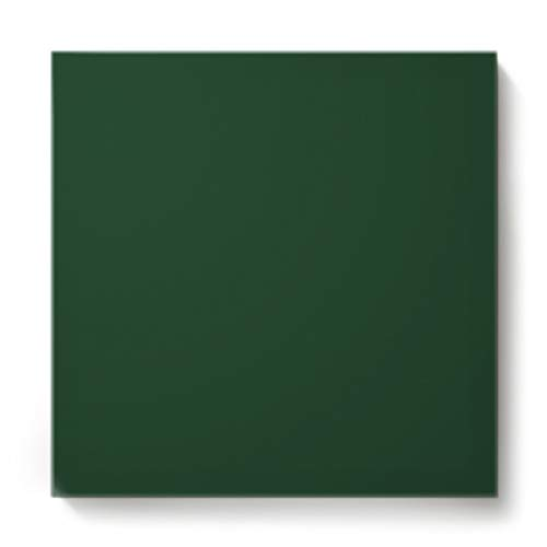 EZON-CH Canvas Wall Art Square Oil Painting Modern Artworks Office Home Decor,Dark Green Pattern Canvas Artworks,Stretched by Wooden Frame,Ready to Hang,32 x 32 Inch ()