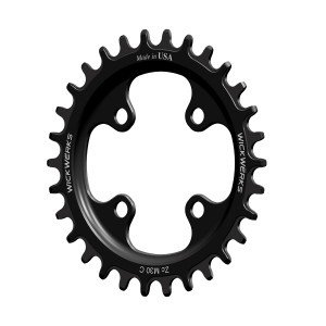WickWerks 30t 64 BCD Mountain Single Z Ring (9 Speed 64mm 4 Bolt)