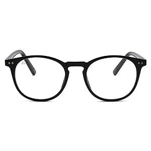 """PRIVÉ REVAUX """"The Maestro"""" Handcrafted Designer Eyeglasses With Anti Blue-Light Blocking Lenses For Men & Women (Black)"""