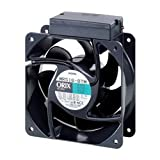 ORIX Single-Phase 200/230 VAC Axial Cooling Fan - 6.30 in. (W) X 6.30 in. (H) [160 mm (W) X 160 mm (H)]