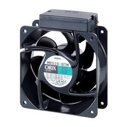 ORIX Single-Phase 200/230 VAC Axial Cooling Fan - 6.30 in. (W) X 6.30 in. (H) [160 mm (W) X 160 mm (H)] by Oriental Motor