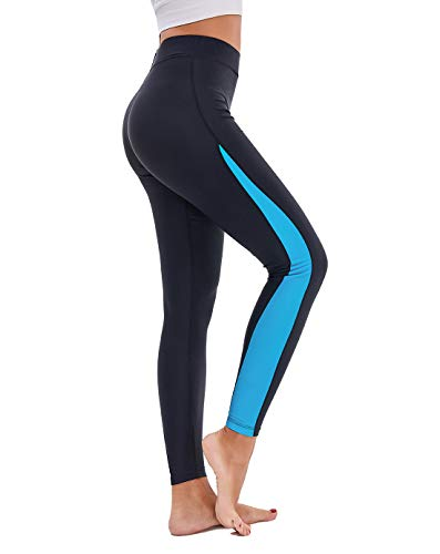 Scodi Women's Surfing Leggings Swimming High-Waisted Tights UPF 50+