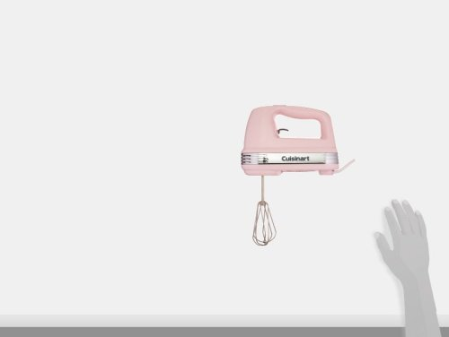 Cuisinart HM-50PK Power Advantage 5-Speed Hand Mixer - Pink, Pink