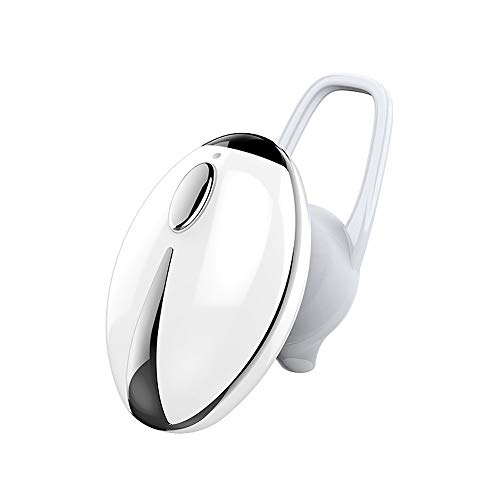 Tpingfe Mini Wireless Bluetooth 4.0 Stereo in-Ear Headset Earphone for Samsung (White)