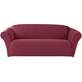 Amazon.com: Sure Fit Scroll t-cushion – Sofá Slipcover ...