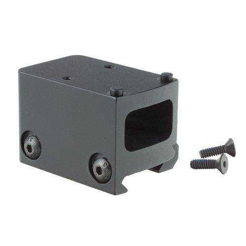 Trijicon AC32059 Lightweight Picatinny Rail Mount Adapter RMR 1/3 Lower Co-Witness, black (Lower Rail)