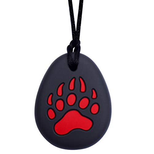 Munchables Bear Paw Chew Necklace