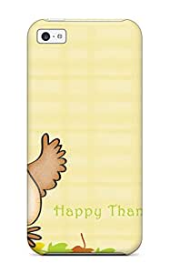 Flexible Tpu Back Case Cover For Iphone 5c - Thanksgivings