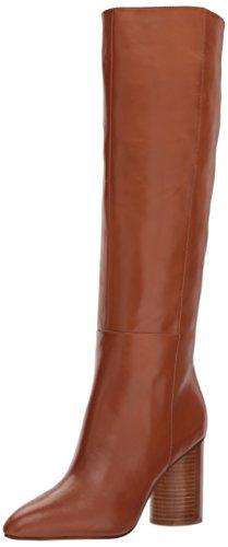 Leather High West Nine Women's Natural Dark Knee Boot Christie 8ZUqI