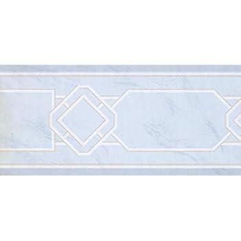 Wallpaper Border Blue Classic Concord Wallcovering 15 x 9 DW5000B